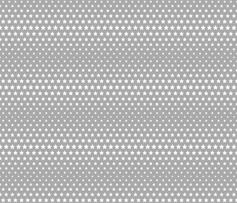 halftone stars grey reversed fabric by misstiina on Spoonflower - custom fabric