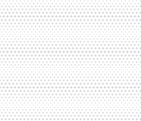 halftone crosses light grey fabric by misstiina on Spoonflower - custom fabric