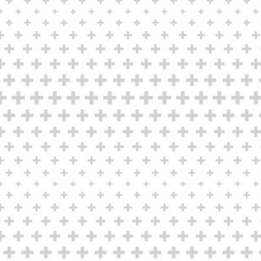 halftone crosses light grey