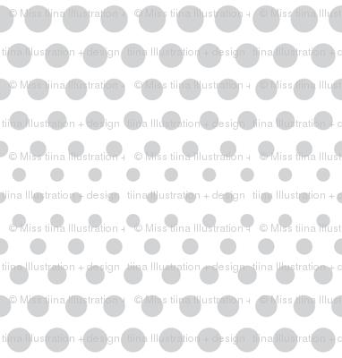 halftone dots light grey