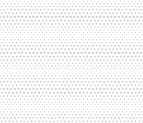 halftone stars light grey fabric by misstiina on Spoonflower - custom fabric