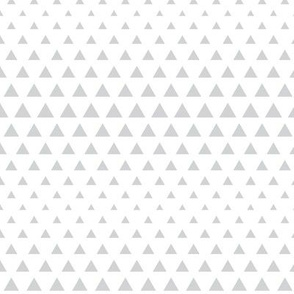 halftone triangles light grey