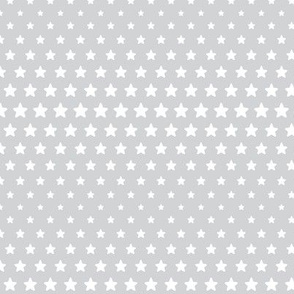 halftone stars light grey reversed
