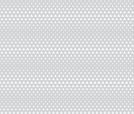 halftone triangles light grey reversed fabric by misstiina on Spoonflower - custom fabric