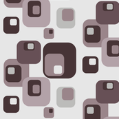 brown beige funky squares