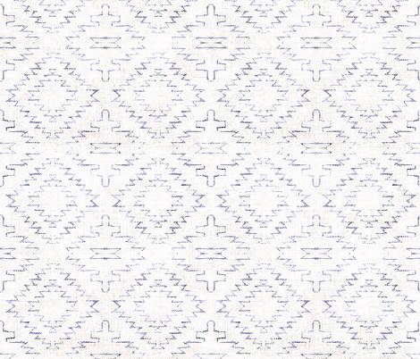 FRENCH_LINEN_SEDONA_GEO fabric by holli_zollinger on Spoonflower - custom fabric