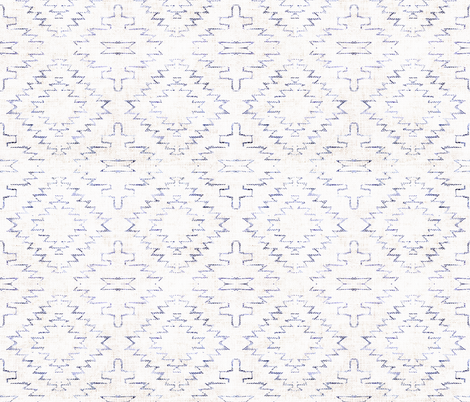 FRENCH_LINEN_SEDONA_GEO fabric by holli_zollinger on Spoonflower - custom fabric