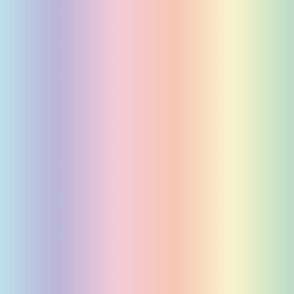 rainbow ombre pastel