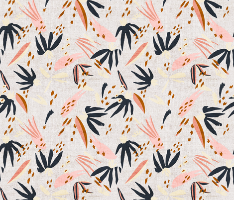 FRENCH_LINEN_BOHO_ADOBO fabric by holli_zollinger on Spoonflower - custom fabric