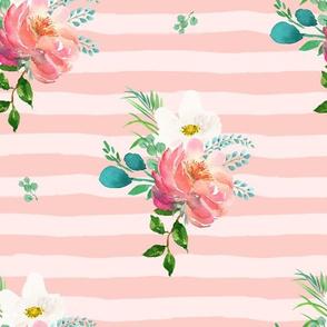 "10.5"" Flamingo Park Pink Stripes"