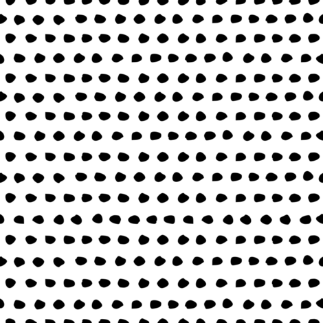 Black & White Dots fabric by shopcabin on Spoonflower - custom fabric
