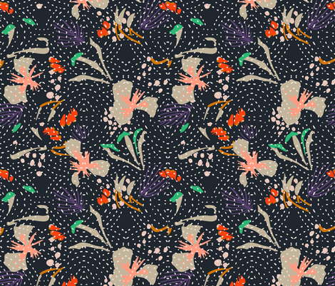 ADOBO_KANTHA fabric by holli_zollinger on Spoonflower - custom fabric