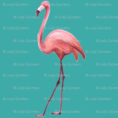 Flamingo Park - Dark Aqua