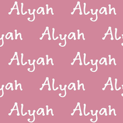 Custom Name Fabric - Any Font - Any Color - Any Name