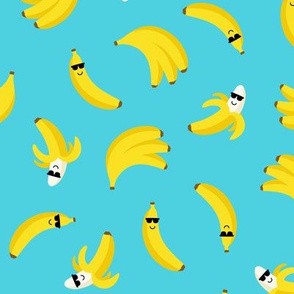 cool bananas blue