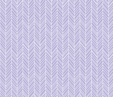 herringbone feathers light purple fabric by misstiina on Spoonflower - custom fabric