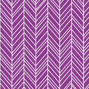 herringbone feathers grape