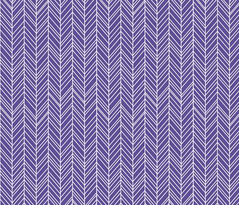 herringbone feathers purple fabric by misstiina on Spoonflower - custom fabric