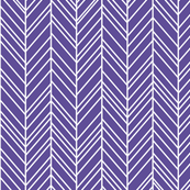 herringbone feathers purple