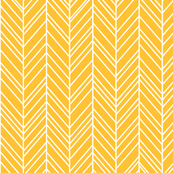 herringbone feathers golden honey