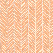 herringbone feathers sherbert