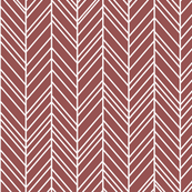 herringbone feathers wine