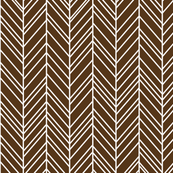 herringbone feathers brown