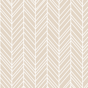 herringbone feathers sand
