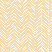 herringbone feathers creamy banana