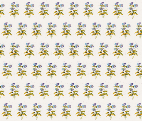 3_Blue fabric by wildflowerfabrics on Spoonflower - custom fabric
