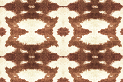Cow Hide fabric by hudsondesigncompany on Spoonflower - custom fabric