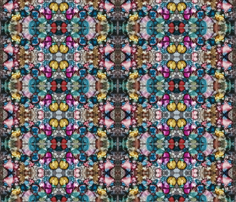 Kaleidoscope - Field of Jewels fabric by fletch_slade on Spoonflower - custom fabric