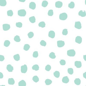 mint dots coordinate mint dots nursery baby