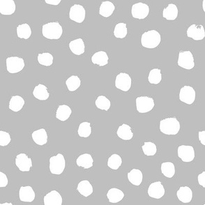 grey dots coordinate mint dots nursery baby
