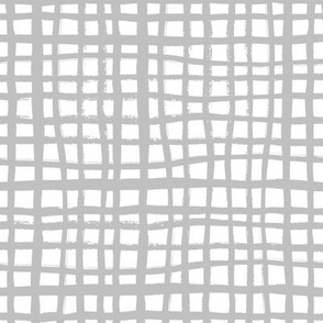 grid fabric grey grid nursery baby fabric simple coordinate