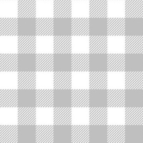 plaid fabric grey grid nursery baby fabric simple coordinate buffalo plaid