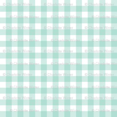 plaid fabric mint grid nursery baby fabric simple coordinate buffalo plaid