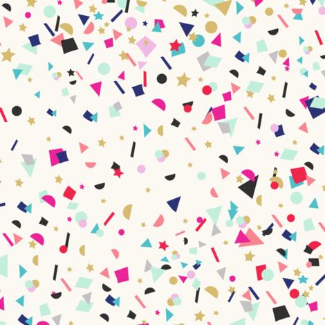 birthday Confetti fabric by crystal_walen on Spoonflower - custom fabric