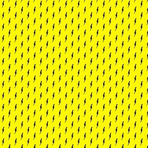 little bolts on yellow
