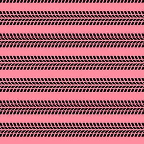 tire stripes || pink