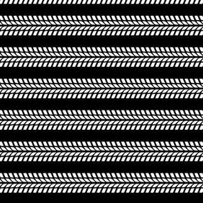tire stripes    black