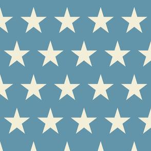Vintage Flag - Large Stars