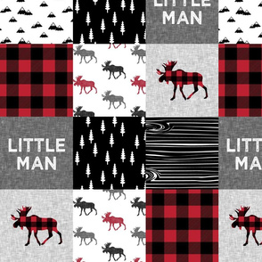 "5"" scale - Little Man - Buffalo Plaid"