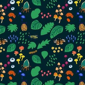 Rainforest Fungus and Bugs (small)
