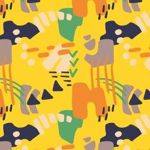 Geometric 1: Yellow