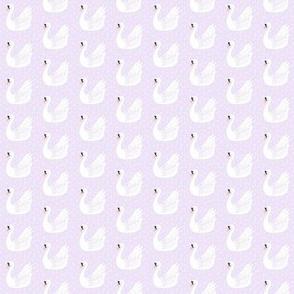 SWAN_soft lilac mini