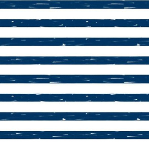 sailor stripes // navy stripe fabric summer nautical design