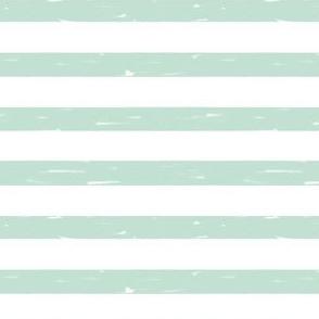 sailor stripes // mint stripe fabric hand-drawn summer nautical summer print