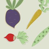 Vintage Vegetable s