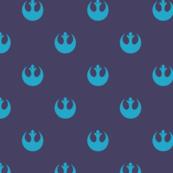 Rebel Dots - Blue Raspberry